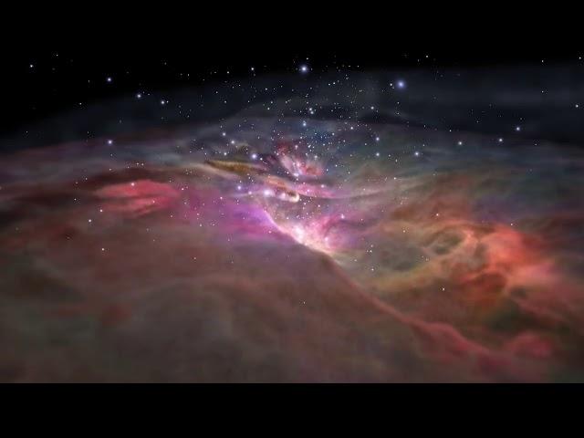 Sử dụng ánh sáng nhìn thấy và ánh sáng hồng ngoại chiêm ngưỡng Tinh vân Orion