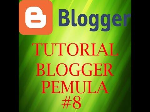 Tutorial Pemula Blogger - Membuat Daftar Isi Blog