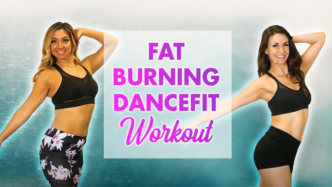 Cardio DanceFit for Weight Loss ♥ Latin Dance Workout, Beginners, 10 Minute