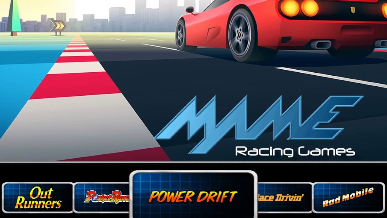Racerspin - MAME Racing Games - YouTube