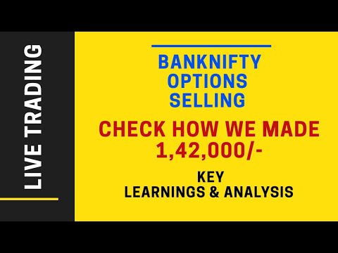 Banknifty Weekly Options Strategy |banknifty Options Trading Live | 1,42, 000/- profits |70% Returns
