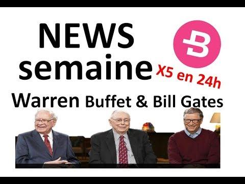 NEWS: Buffet BTC = poison pour rats, Bytecoin sur la lune