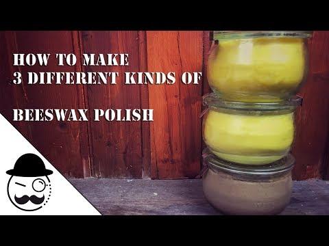DIY Beeswax Polish