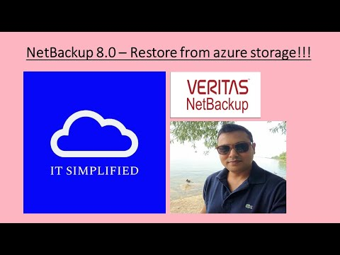 NetBackup 8.0 - Restore from Azure Storage