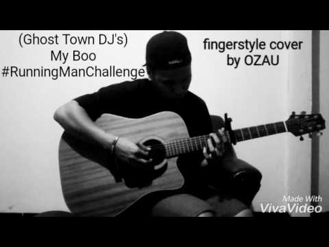 how a fingerstyle guitarist accepts the running man challenge (with ...