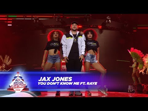 Jax Jones - 'You Don't Know Me' FT. Raye - (Live At Capital's Jingle Bell Ball 2017)