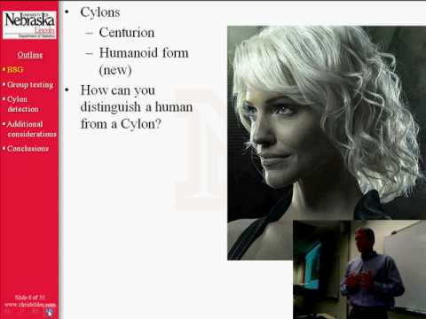 Human or Cylon? Group Testing on Battlestar Galactica; Part 1