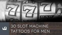 30 Slot Machine Tattoos For Men