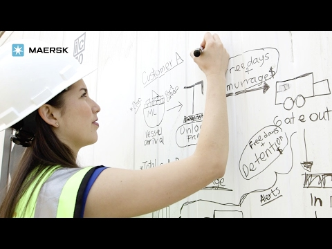 A big impact from the start, Maersk Annual Magazine (Subtitles)