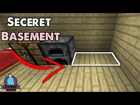 How To Make A Secret Basement In Minecraft Pe