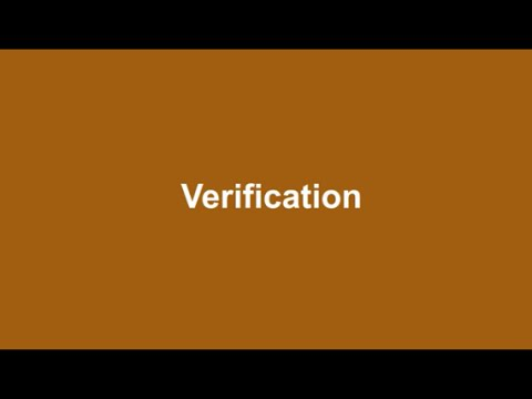 Food Act 2014: What is verification?