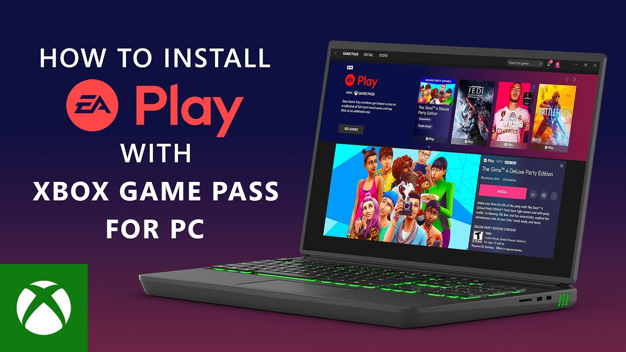 EA Play on PC with Xbox Game Pass Ultimate and PC launching this Thursday