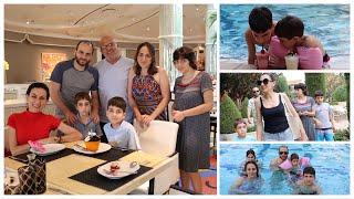 Рождественский Обед в Ресторане Jardin - Праздник Продолжается - Эгине - Семейный Влог - Heghineh