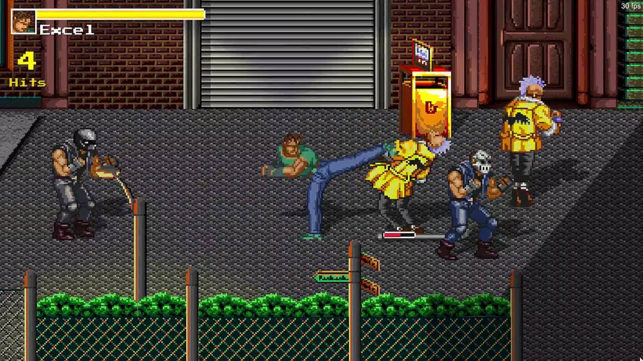 Streets of Chaos - Streets of Rage fan game made with Unity 3d - Video 4