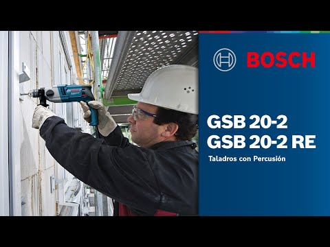 Видео обзор: BOSCH GSB 20-2