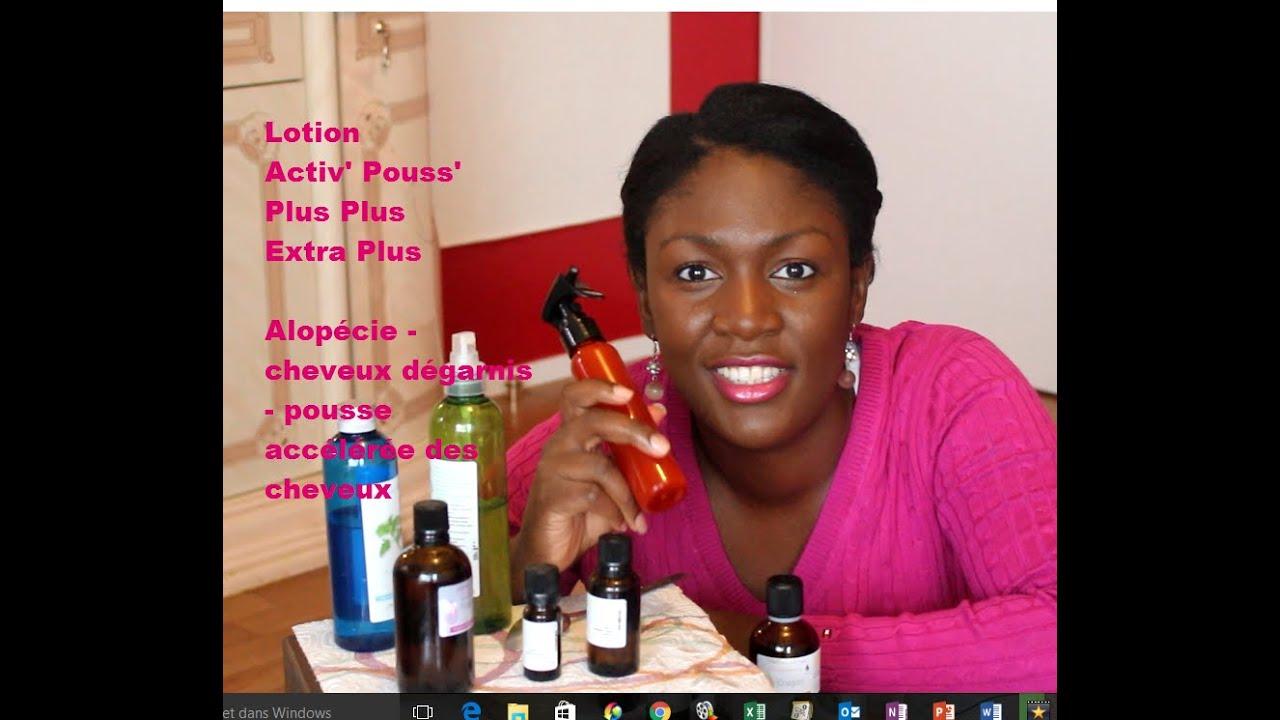 lotion acti pouss 39 plus plus extra plus alop cie cheveux d garnis youtube. Black Bedroom Furniture Sets. Home Design Ideas