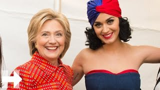 Katy Perry joins Hillary's Iowa JJ dinner rally | Hillary Clinton