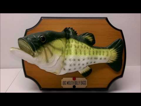 The Original Big Mouth Billy Bass Take Me To The River!