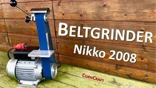 Beltgrinder Nikko2008   For knifemaking beginners?!