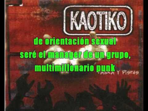 Kaotiko - rico deprimido (karaoke)