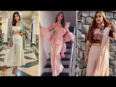 Indo Western dress for wedding occasion    party wear info Western dresses ❤️2020