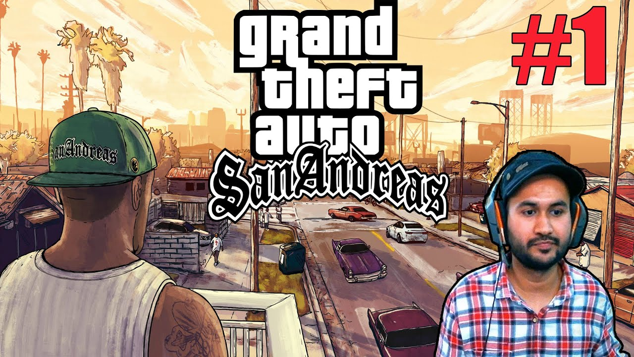 GTA : SAN ANDREAS HD GRAPHICS GAMEPLAY #1 thumbnail