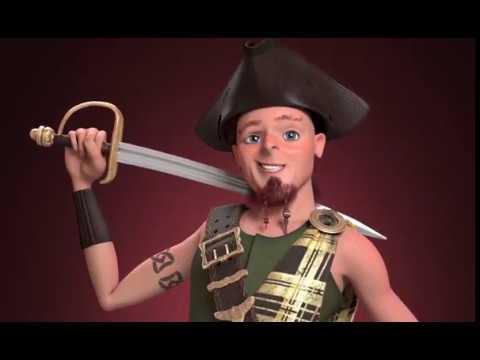 """Captain """"Buck"""" Red Beard MacDeath"""