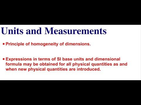 Units and Measurement-7(lecture-9) For ISC Students specific Class 11th  physics (Hindi)
