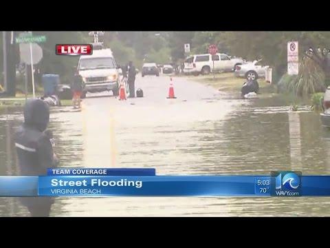 Erin Kelly on street flooding in Va. Beach