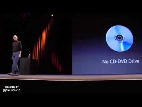 Why Apple Removed The CD Drive from MacBooks