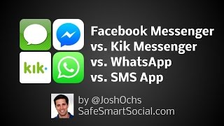 Facebook Messenger vs WhatsApp vs Kik Messenger