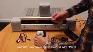 EM7410 WiFi Music Streamer unboxing & installation