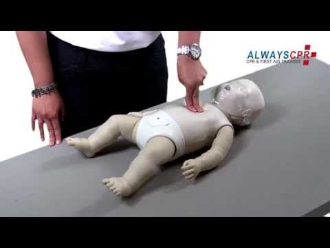 Infant Choking and Infant CPR Demonstration