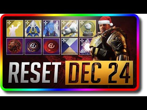 Destiny 2 - Season 9 Iron Banner & Dawning Reset (December 24 Season Of The Dawn Weekly Reset)