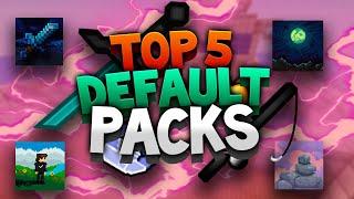 TOP 5 DEFAULT TEXTURE PACKS 1.8/1.9/1.10/1.12/1.13/1.14/1.15 – FPS BOOST/NO LAG! + DOWNLOAD LINK!