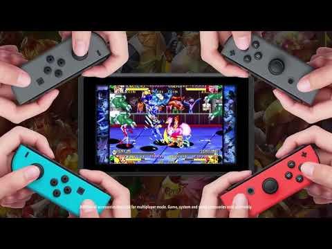 Capcom Beat'em Up Bundle - Reveal Trailer (Nintendo Direct)