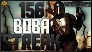 Battlefront-2 156 Max Level Boba Fett Killstreak/Gameplay (On Kashyyyk)