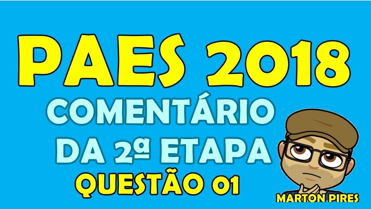 0dfd87018 PAES (UEMA 2018)/COMENTÁRIO DA SEGUNDA ETAPA QUESTÃO 01 (FÍSICA ...