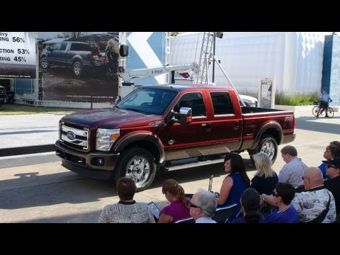 watch the new 2015 ford f 250 king ranch debut at the state fair of texas