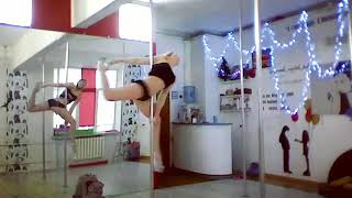 Скачать Элемент Pole Dance Балерина Trick BALLERINA вариант 2