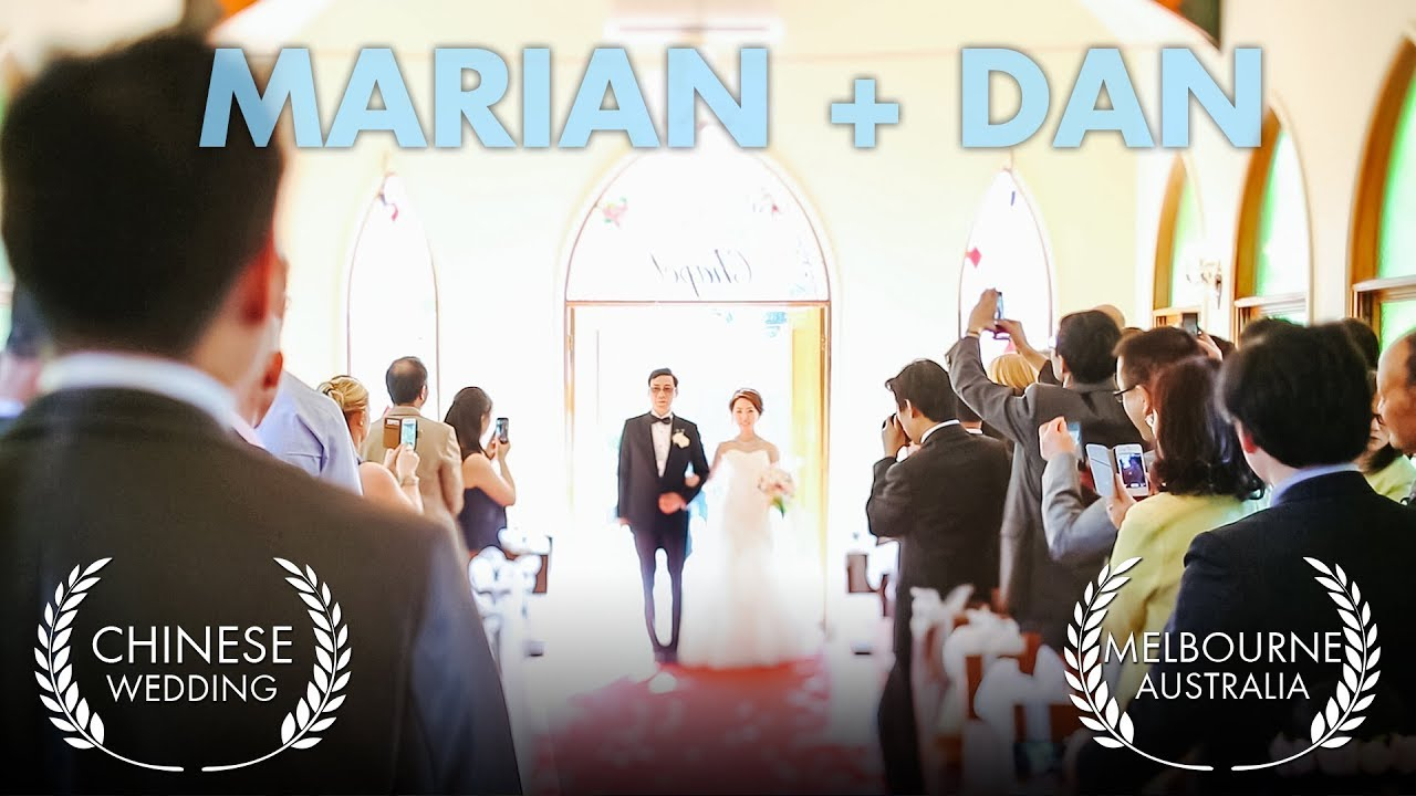 Chinese Wedding Video Melbourne Marian Dan At Bram Leigh Receptions