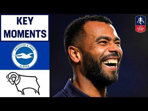 Brighton 2-1 Derby   Key Moments  Emirates FA Cup 18/19