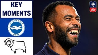 Brighton 2-1 Derby | Key Moments| Emirates FA Cup 18/19