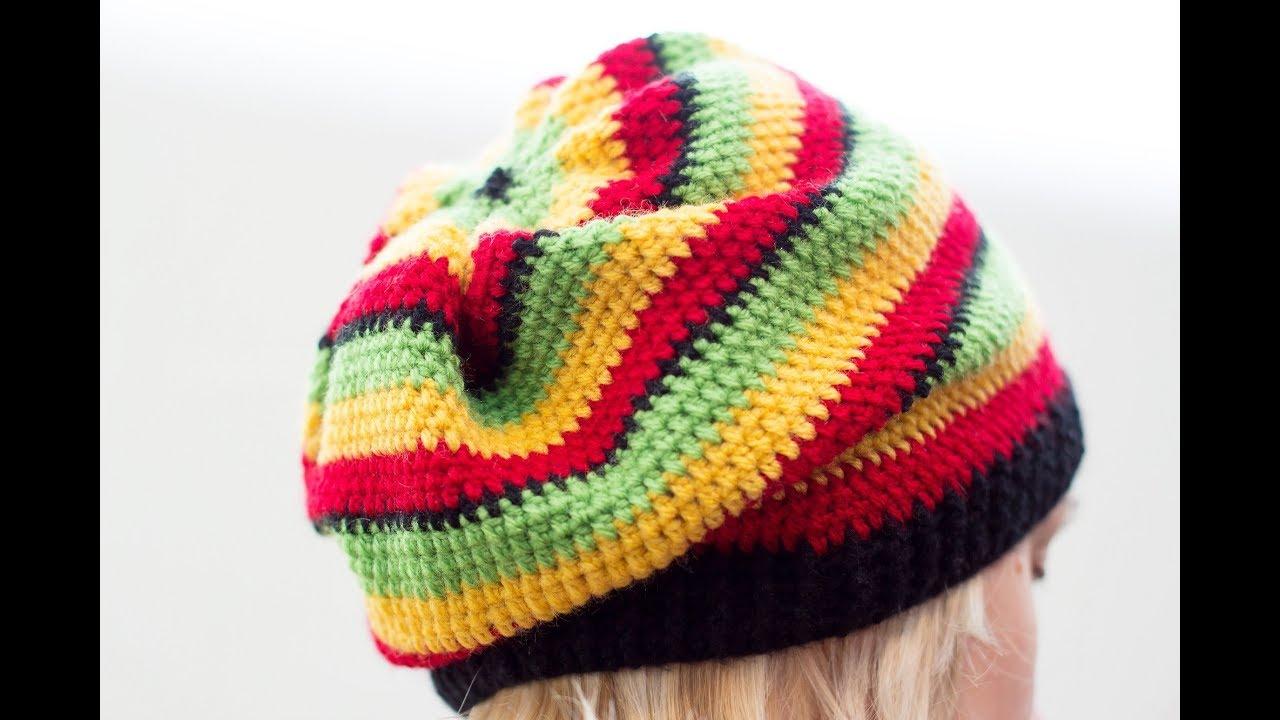 Crochet Tutorial Rasta Hat Youtube