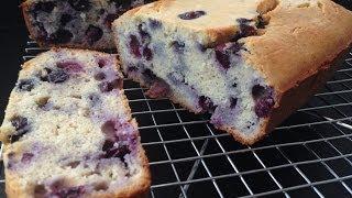 Healthy Lemon Blueberry Bread Recipe - Hasfit Gluten Free Blueberry Bread - Blueberry Lemon Bread