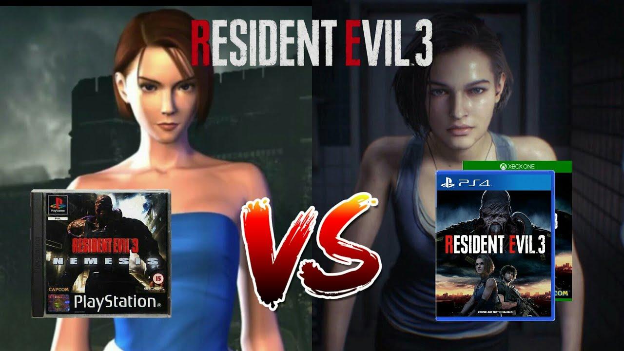 Resident Evil 3 Original 1999 Vs Remake 2020 Graphics