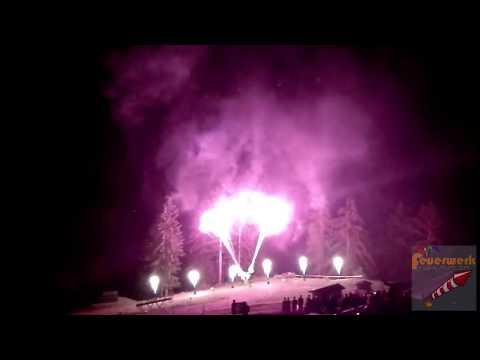 Flammenshow Hochzeit Seidlalm Kitzbühel