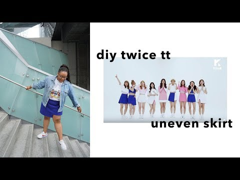 DIY TWICE 'TT' Skirt || YaGirlBri