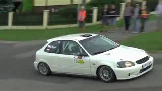 Honda Civic EK9 Rally Flat Out!
