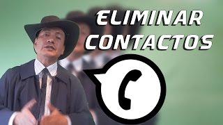 Eliminar definitivamente Contactos WhatsApp 2017 | Smartphones | Android